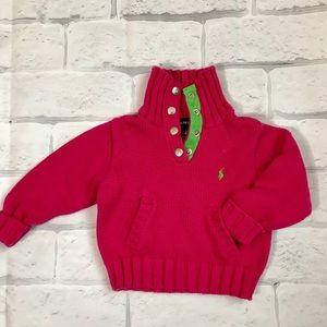 Girls Ralph Lauren Knit Sweater